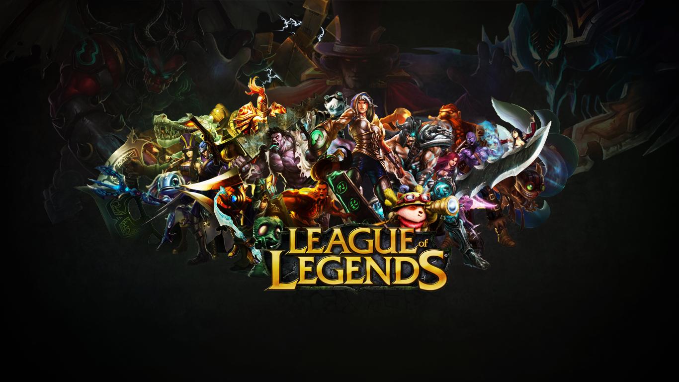 League Of Legends Computer Wallpapers Desktop Backgrounds 1366x768 Id 406806 League Of Legends Logo League Of Legends Game Lol League Of Legends