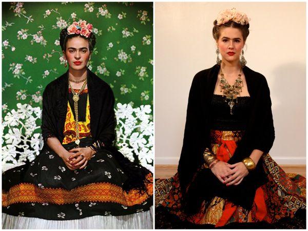 Super guia fantasias pro halloween d guisements costumes et id e - Deguisement frida kahlo ...