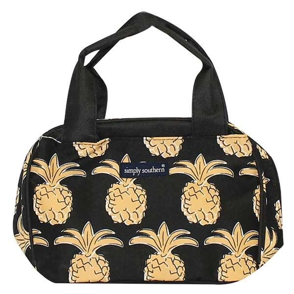 dfac03b210c9 Simply Southern® Black Pineapple Lunch Bag Style: LULU02-LUNCH ...