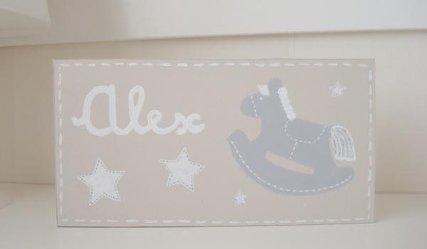 Entornos arena, complementos personalizados para la habitación del bebé