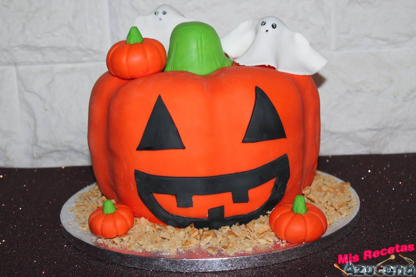 Tarta de hallowen.