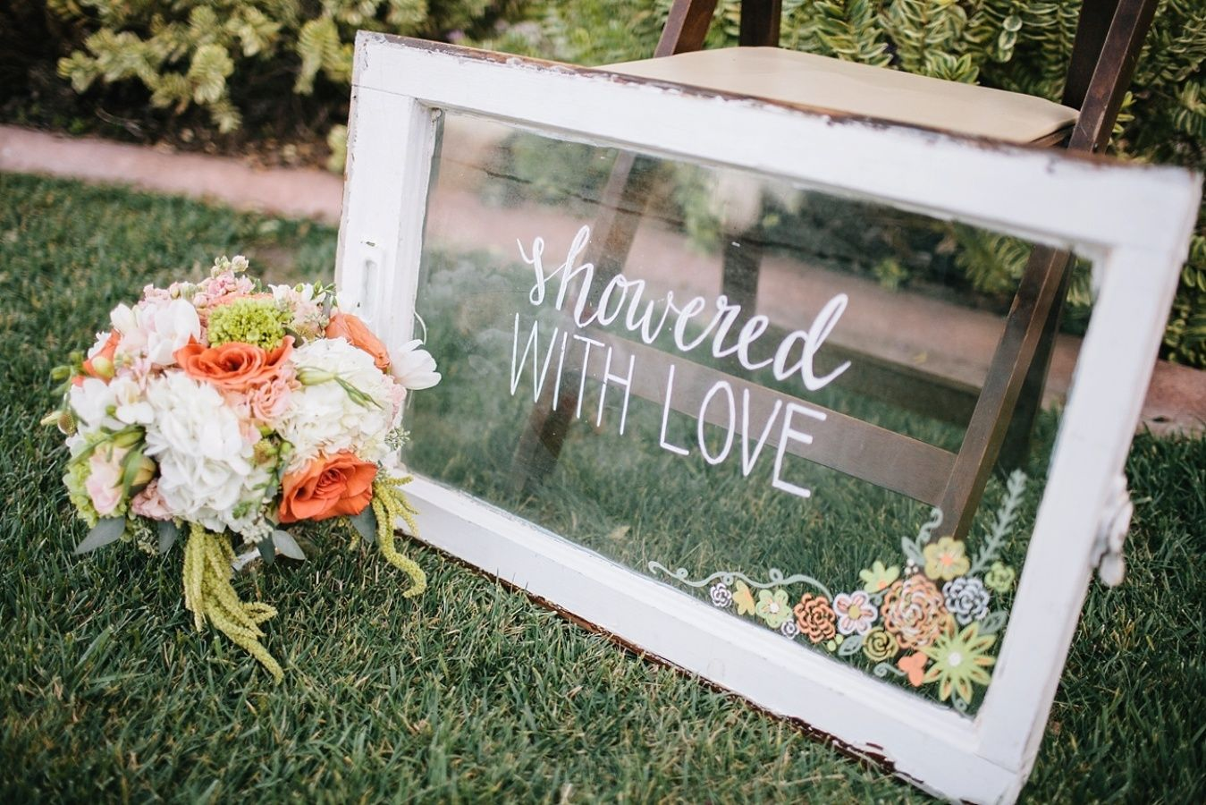With my own wedding a mere six months away, this slice of pretty has me feeling over the moon full-of-romance and eager to plan the final details. It's a darling bridal shower shoot that displays the stunning work of the vendor team that's