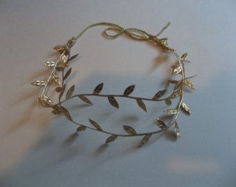 weddings,bridal accessories, hair, Grecian  headpiece, Roman headpiece,  woodland wedding, leaf headband