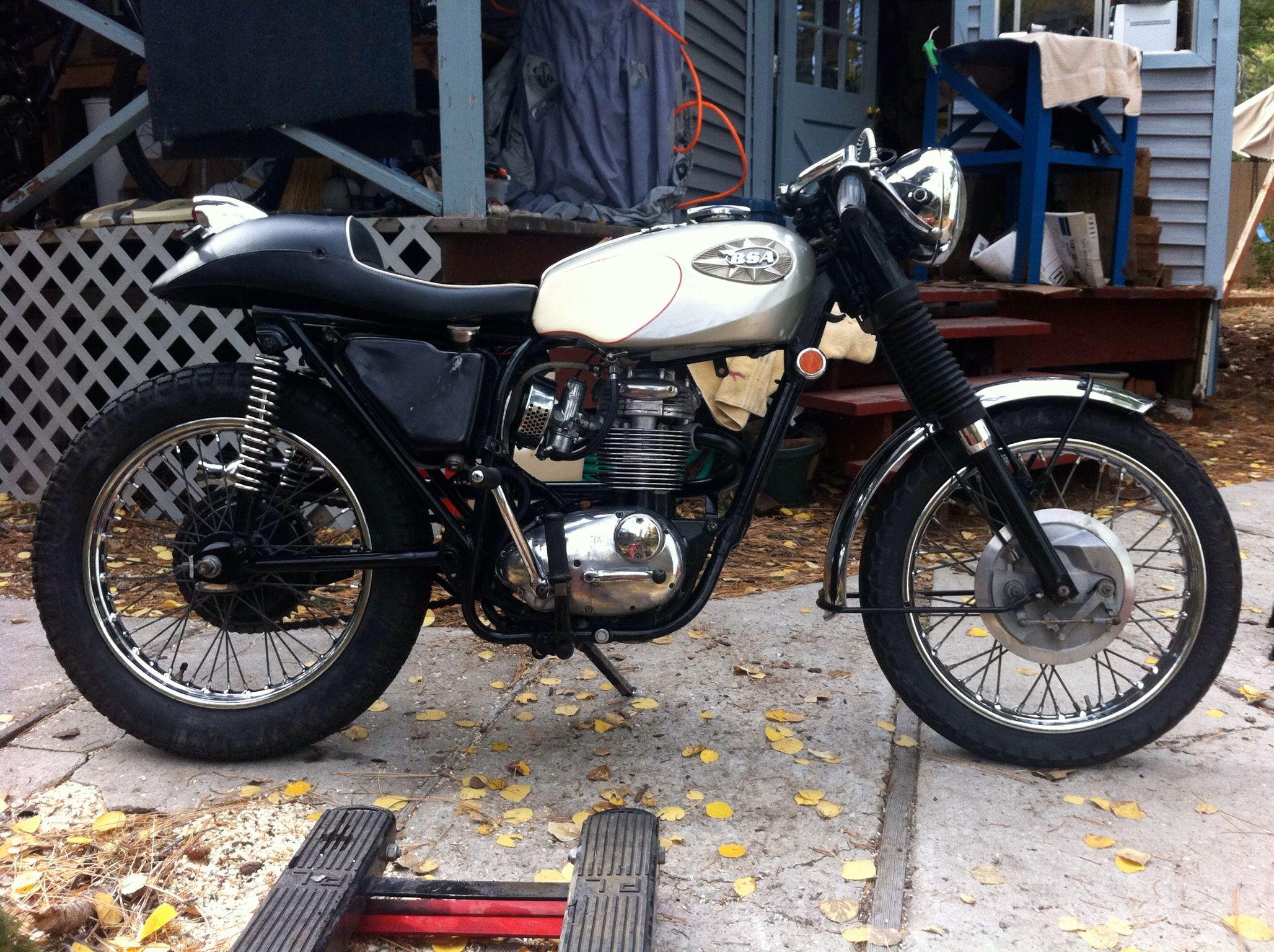 1969 bsa starfire 250 cafe racer