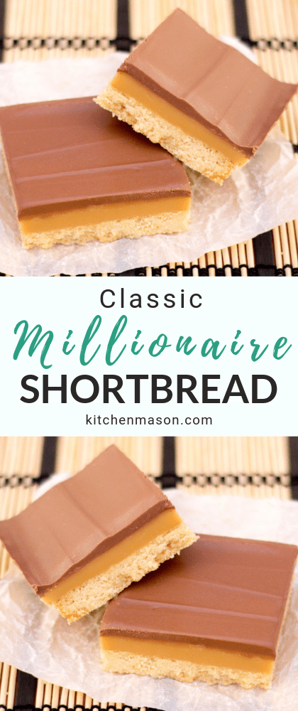 Millionaire's Shortbread Recipe | Video Tutorial + Step by Step Pictures