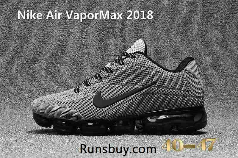 9e3567463f New Nike Air VaporMax 2018 KPU Gray Black Men Shoes