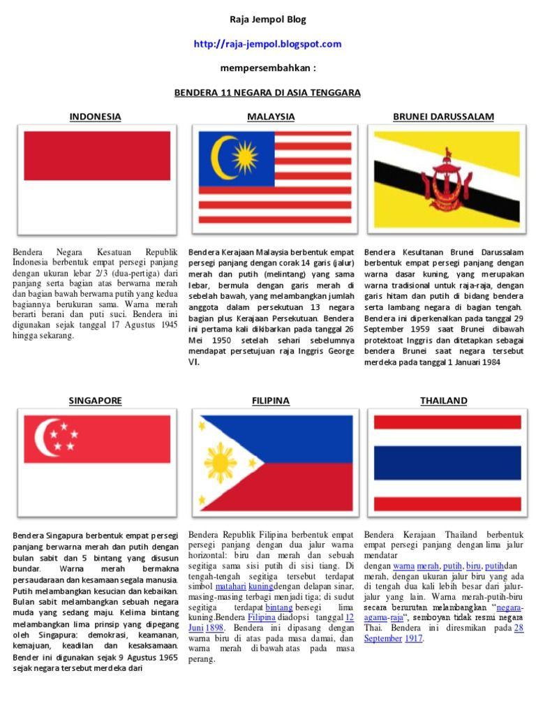 Gambar Bendera Negara
