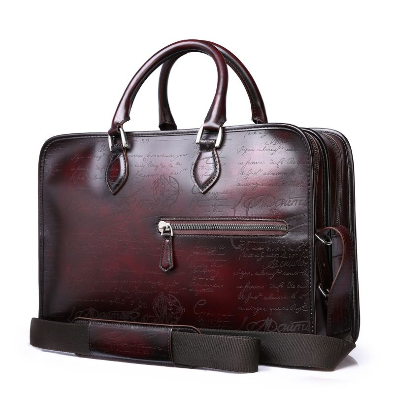 TERSE handmade quality genuine leather custom big capacity bags for man  T88LN0361-1 9b1e90bd7b1f2