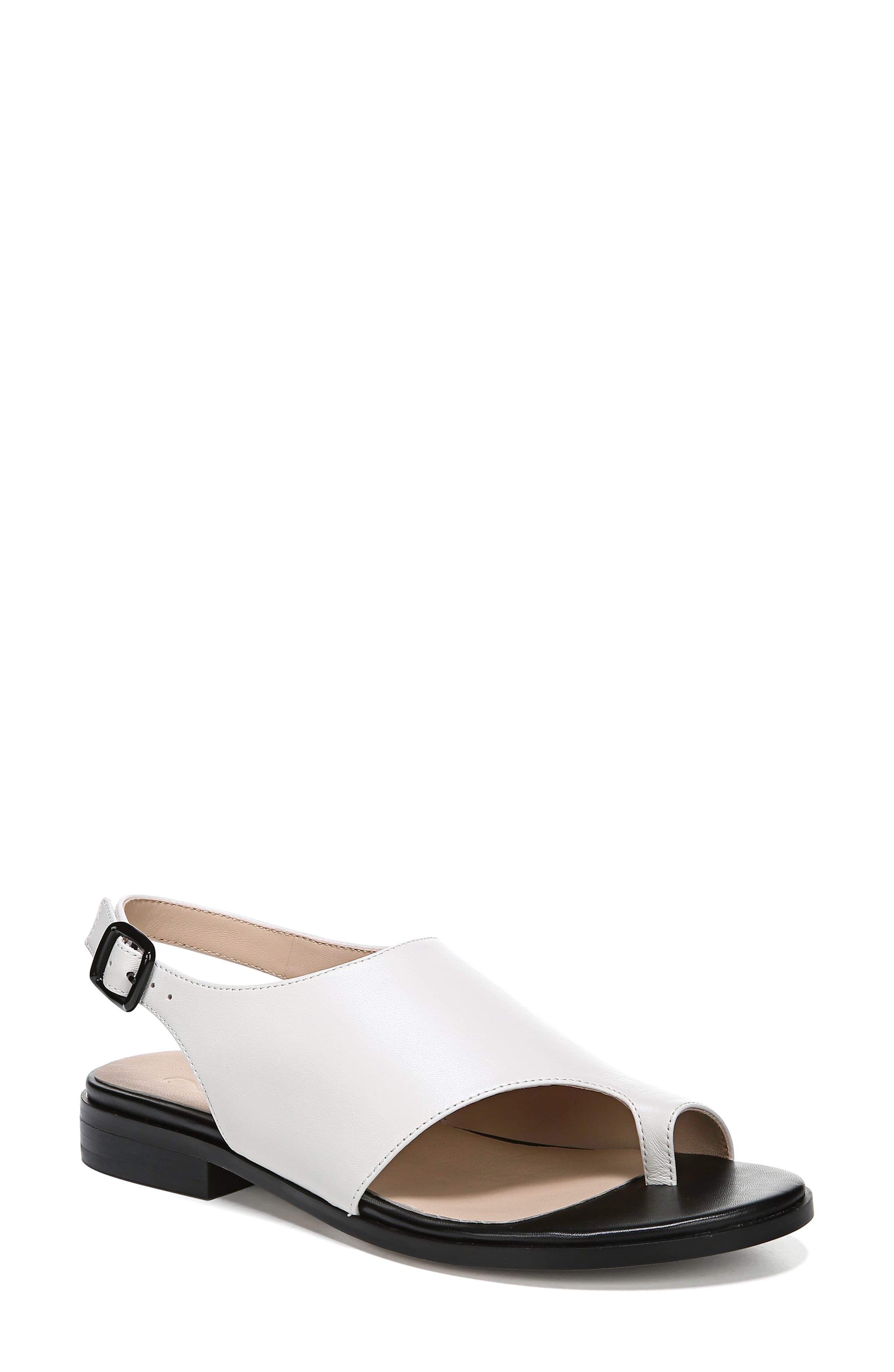 Women's 27 Edit Emma Toe Loop Sandal, Size 7.5 M Black
