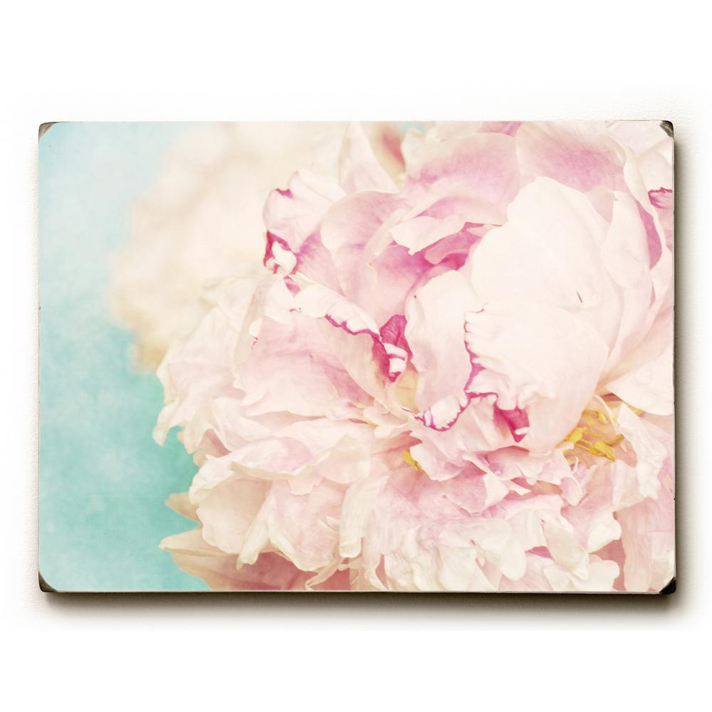 Artehouse 9 in x 12 in delicate peony by obc solid