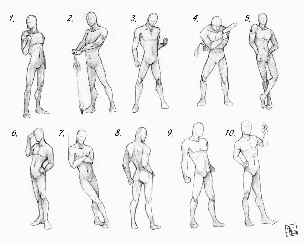 Male Poses Chart By Aomori On Deviantart Art Reference Poses Drawing Poses Male Art Poses
