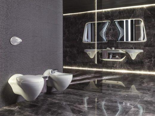 Vitae Collection Porcelanosa Bathrooms by Zaha Hadid Desgin Zaha