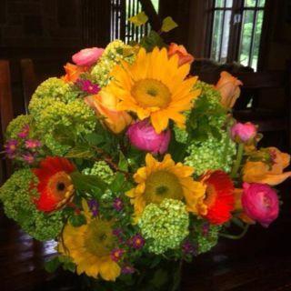 Colorful Flower Arrangements Table Centerpieces Flower