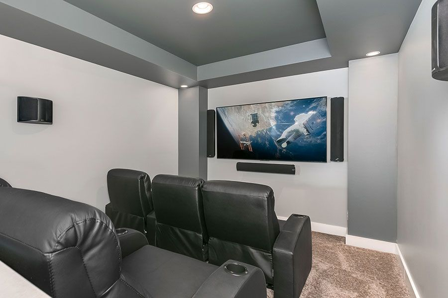 21 awesome basement home theater ideas for your room in 2018 space rh pinterest ca