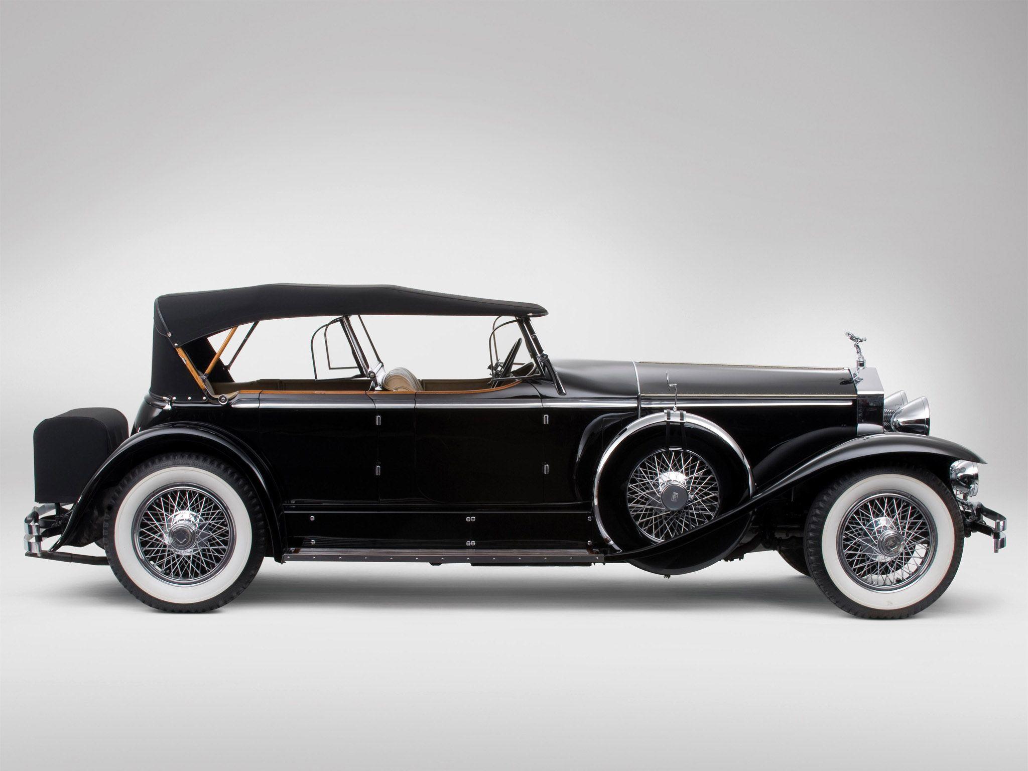 1929 RollsRoyce Phantom Ascot Sport Phaeton I  Automobiles