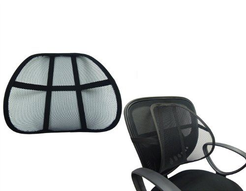 Lumbar Support Cushion Seat Back Muscle Car Home Office Chair Pain Relief Travel Dg Sports