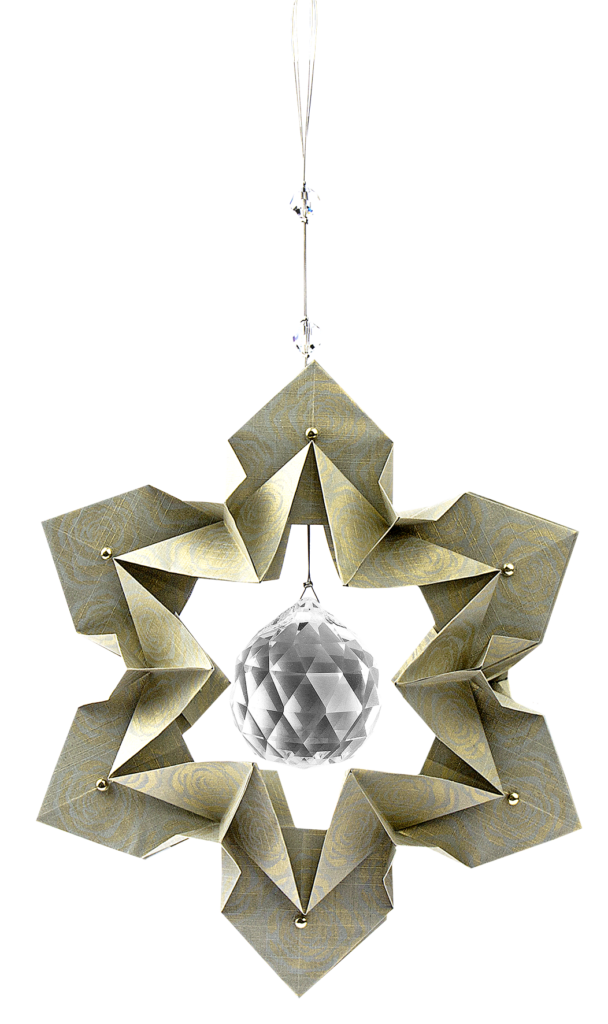 Anleitung: 3-D Blüte Jasmina #origamianleitungen