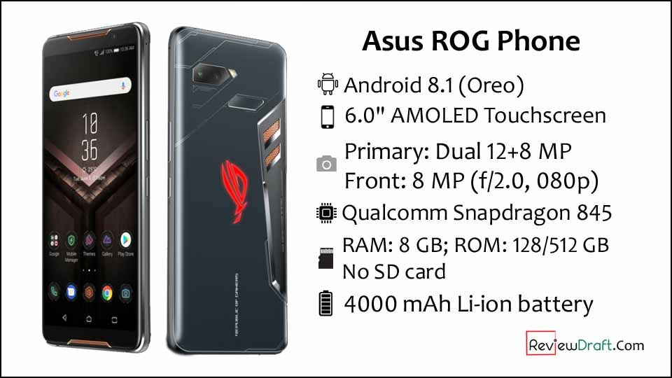 Asus Rog Phone Price In Bangladesh Full Specification Review Draft Asus Phone Asus Rog