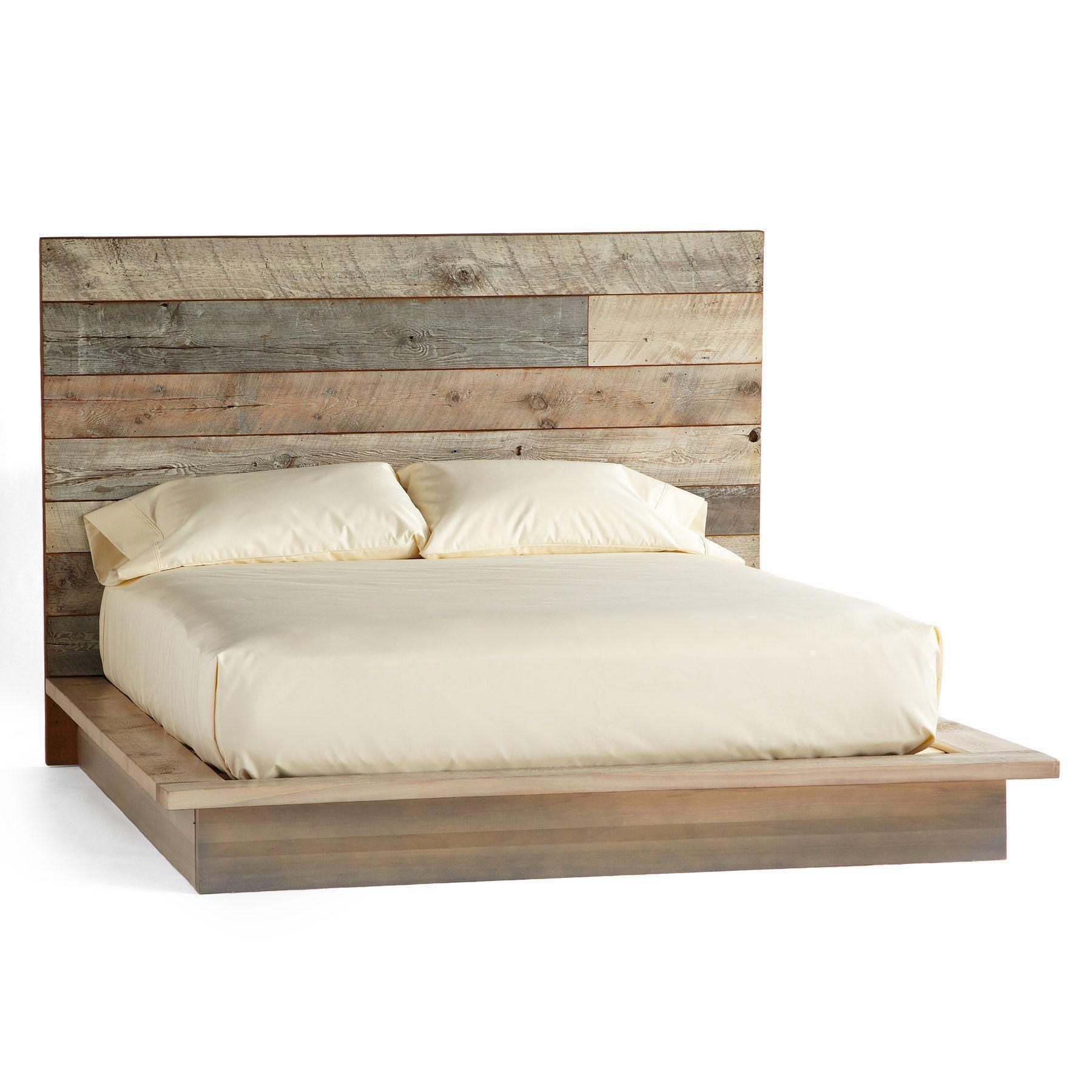 Pacifica Barnwood Platform Bed