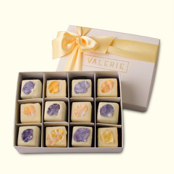 Pansy Petite Fours by Valerie Confections