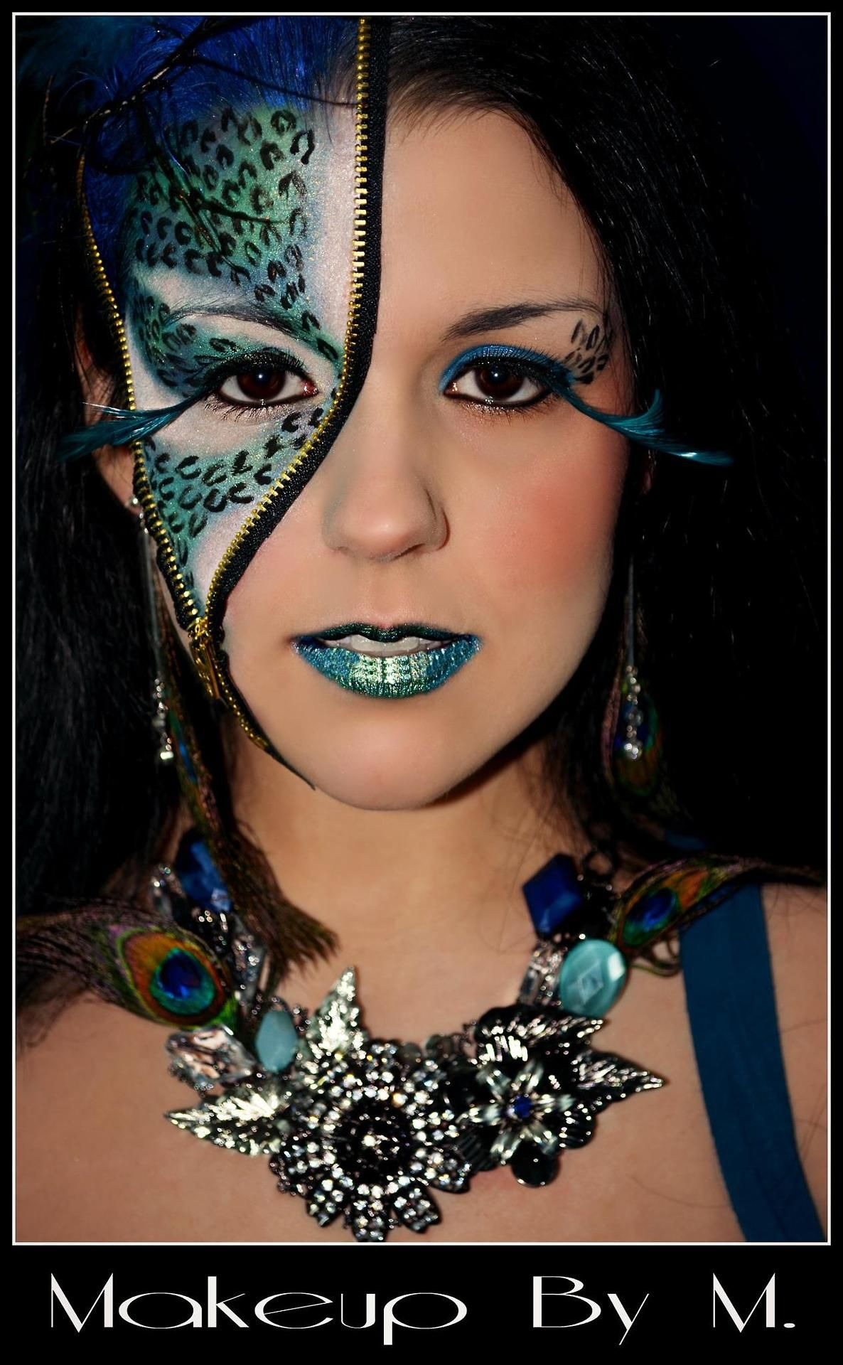 This lady is an amazing make up artist and photographer