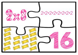 Divertido Rompecabezas De Las Tablas De Multiplicar Del 2 Y 3 Material Educativo Tablas De Multiplicar Aprender Las Tablas De Multiplicar Tablas