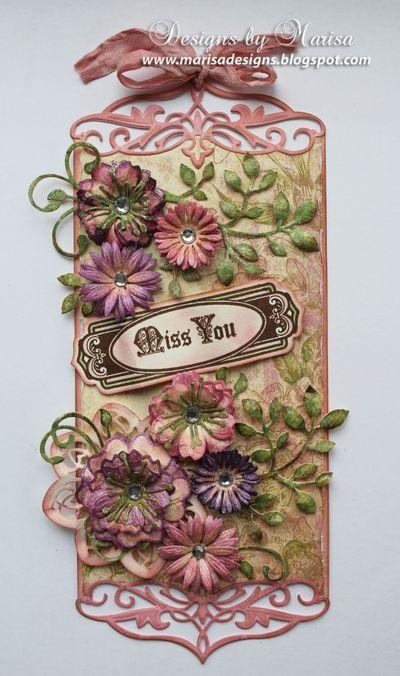 Just A Note Vintage Sentiments Tags and Vintage Sentiment Tag Dies | JustRite Papercraft Inspiration Blog