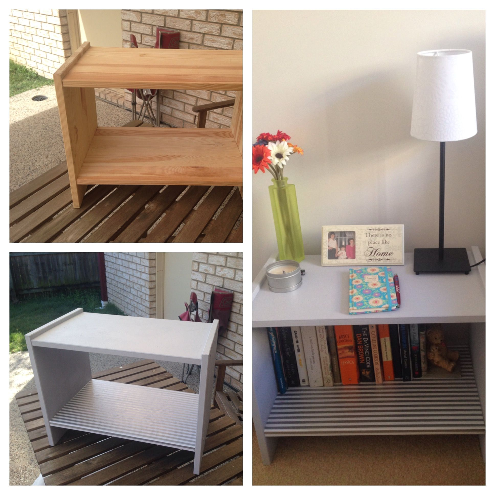 IKEA rast bedside table makeover project DIY Ikea rast