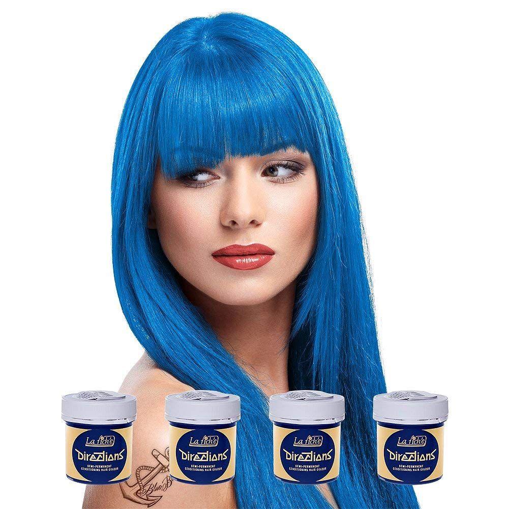 La Riche Directions Semi Permanent Hair Dye Hair Colour 4 X