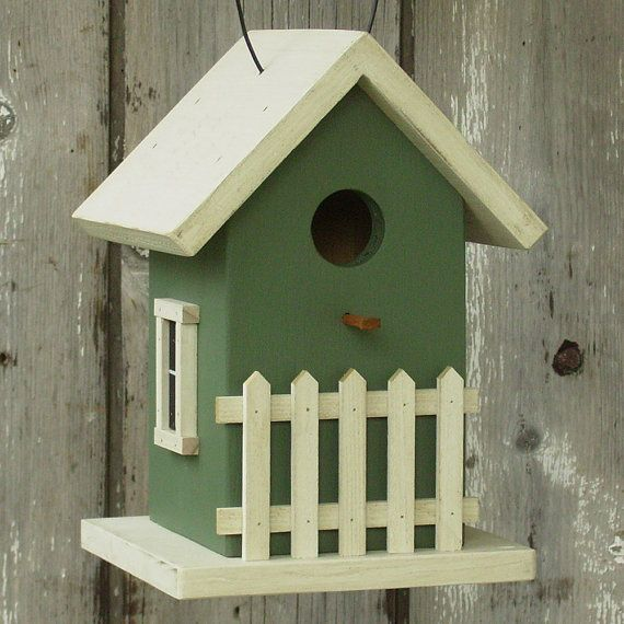 Cottage Birdhouse! | Birdhouses | Pinterest | Birdhouse ...