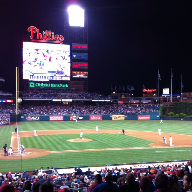 Went to a Phillies game | Travel: Been there  Done that  Got