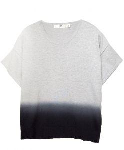 Hope Feinstrick Pullover TEE SWEATER grey melange