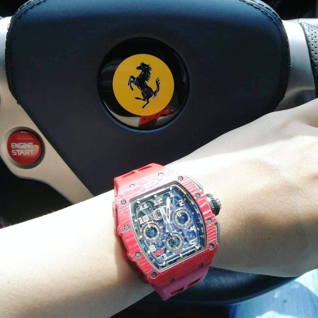 Ferrari X Richard Mille That S Perfect Match Richard Mille Watches Cool Watches Big Watches