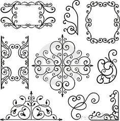 Wrought Iron Ornaments Arte Con Hierro Decoracion De Unas Rollos De Papel Higienico