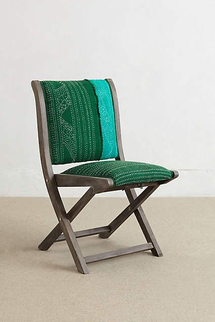 Outstanding Kantha Terai Folding Chair Anthropologie Com For The Gmtry Best Dining Table And Chair Ideas Images Gmtryco