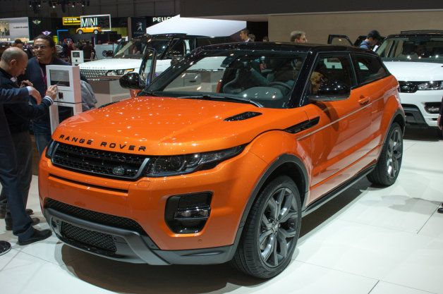 Photo of Land Rover Range Rover Evoque Autobiography Dynamic is a metallic orange mouthful