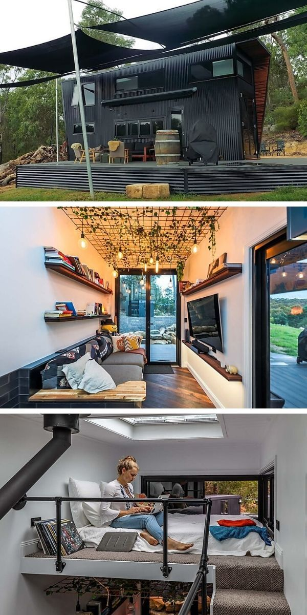 A Modernist Tiny Home Prepares To Go Off Grid In 2020