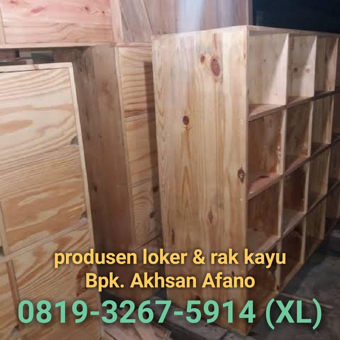 Jual Loker Kayu 0819 3267 5914 Xl Locker Rak Lemari Beli