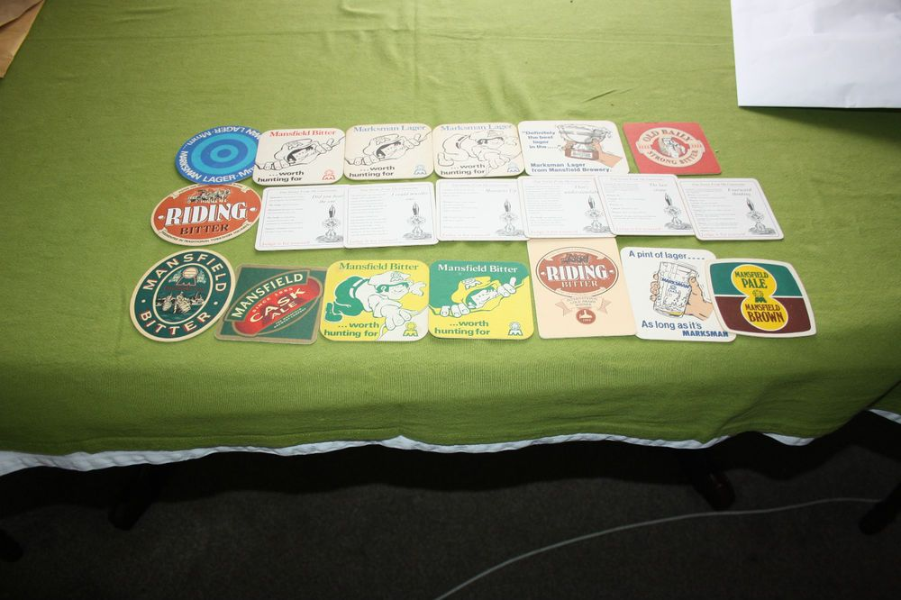 Collection of 20 Beermats  - Mansfield Brewery (2K92) 10/14