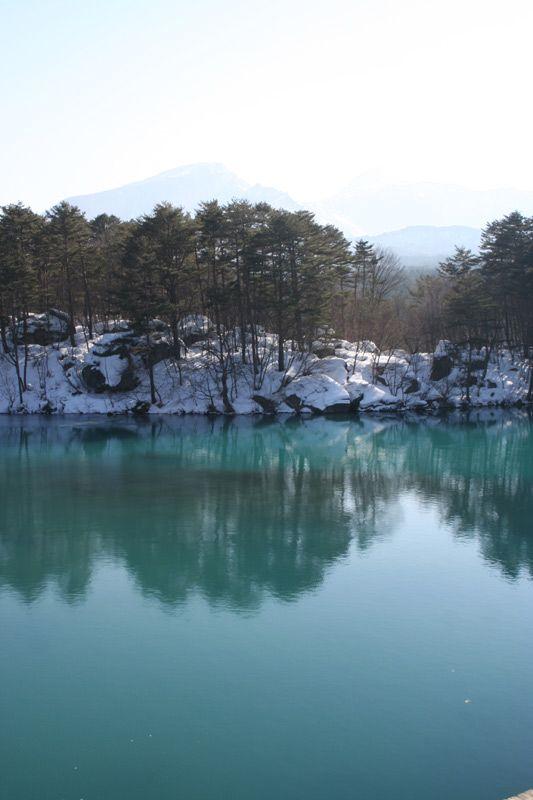 Goshikinuma, Fukushima, Japan  Akiko: I've been there.