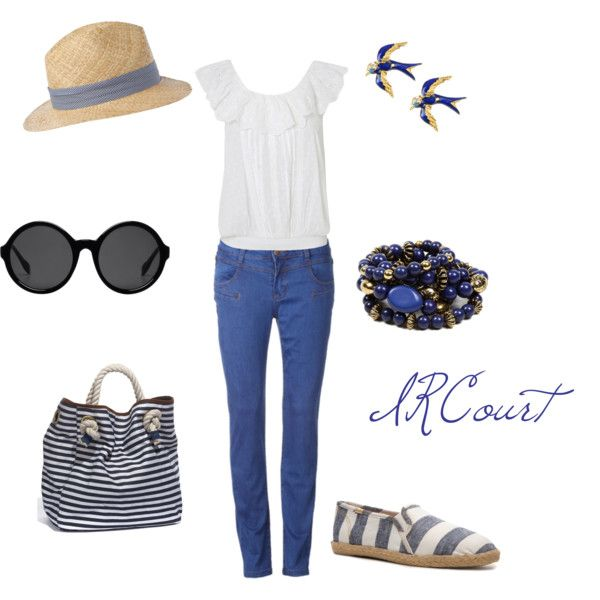 Summer Blues, created by ircourt on Polyvore