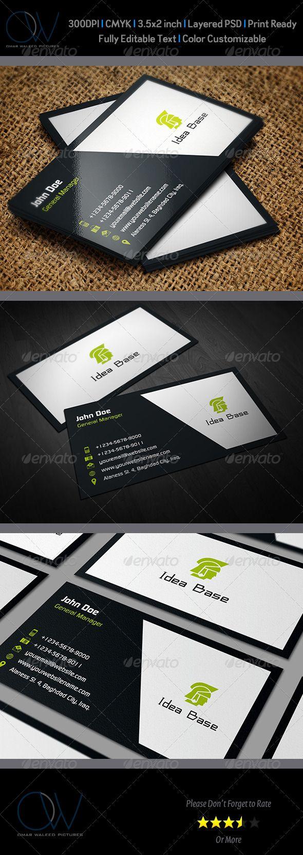 Classic Business Card V2 Classic Business Card Business Card Inspiration Cool Business Cards