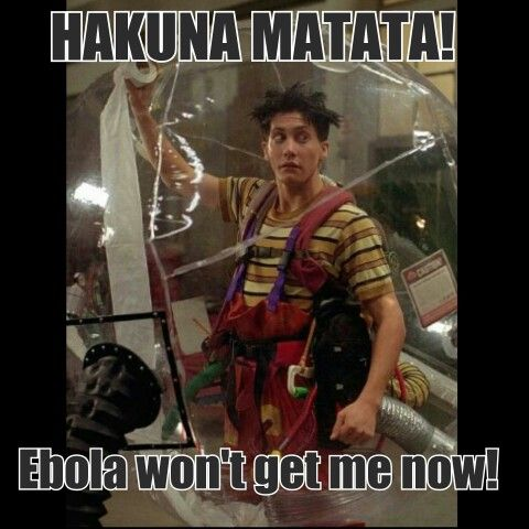 Ebola Witze