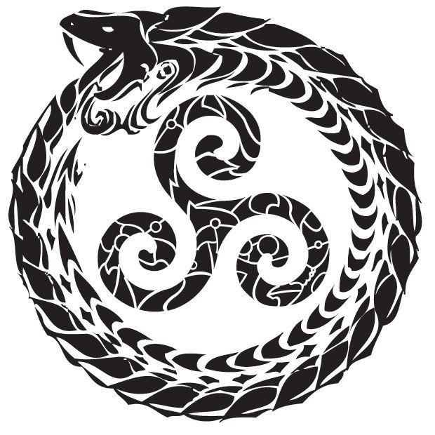 Tribal Triskelion Tattoo