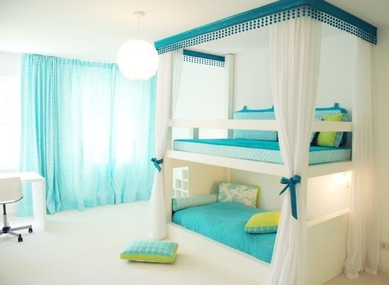 Cute Bunk Beds For Girls Bedroom For 2 Pinterest