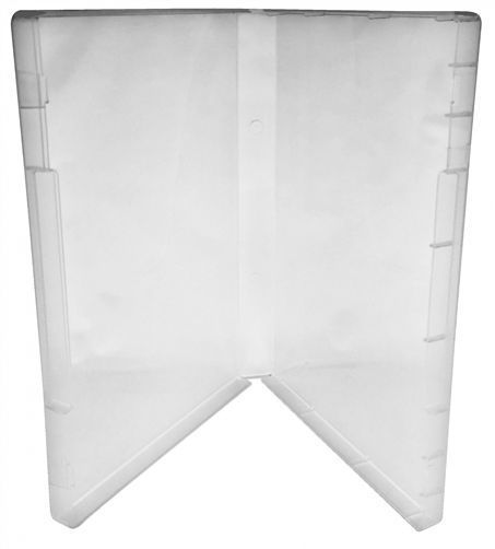 25 Clear Storage Cases 21mm For Rubber Stamps No Tabs (No