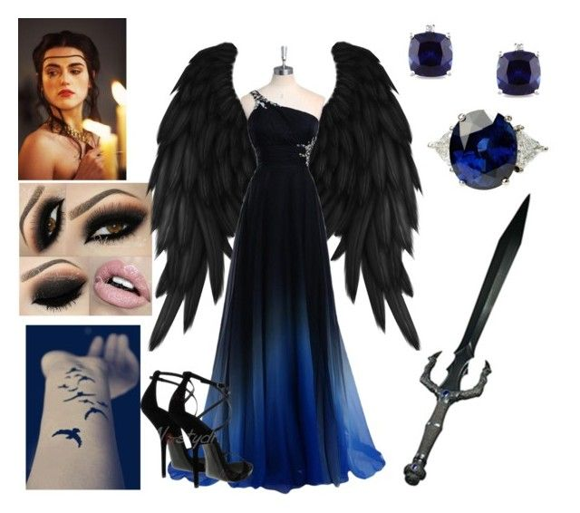 """Fallen Angel Costume"" by themaidofblood liked on Polyvore ..."