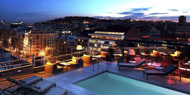 Las Mejores Terrazas De Hoteles De Barcelona 2018 Rincones