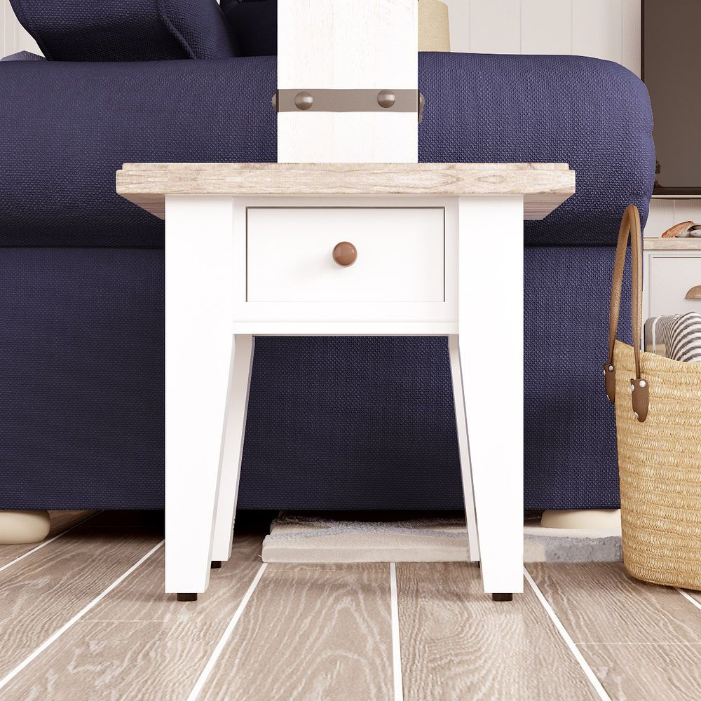 Best Pine End Table Side Furniture Wood Wooden Living Room 400 x 300