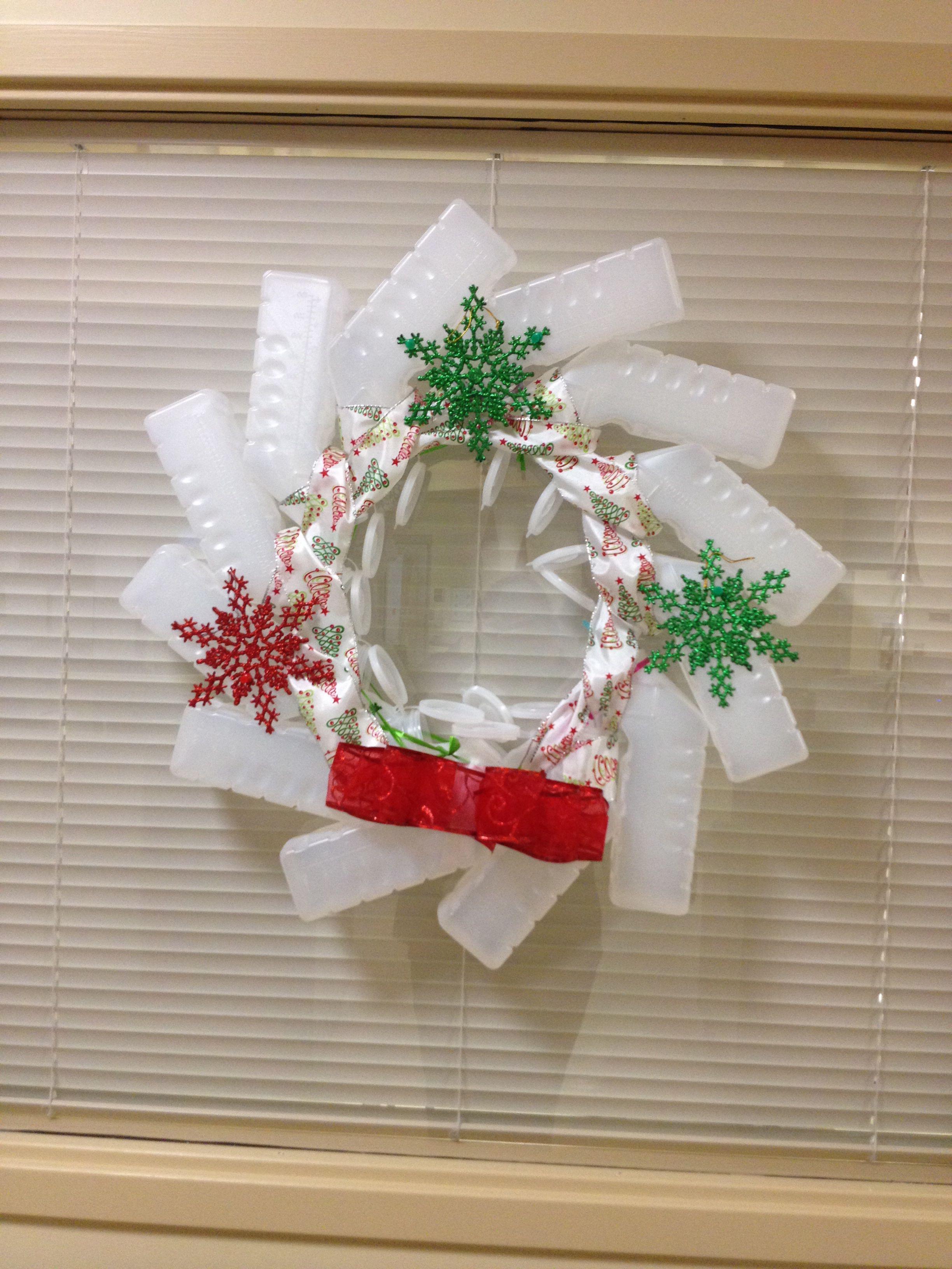 Urinal Christmas Wreath Christmas Decor Pinterest